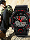 SKMEI Men's Analog-Digital Silicone Band 30m Water-resisstant Multi-Functional Sports Watch Cool Watch Unique Watch