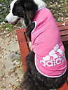Dog Shirt / T-Shirt Blue / Pink / Gray Summer / Spring Sport Fashion-Lovoyager