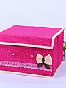 Коробки для хранения Текстиль сОсобенность является С крышкой , Для Бижутерия / Бельё