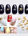 50pcs Mix color sizes Starfish Nail Decorations-Autre decorations-Doigt / Orteil- enAdorable-3mm and 5mm