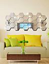 Мода / фантазия / 3D Наклейки Зеркальные стикеры,PVC 10x10X0.1
