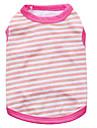 Dog Vest / Vest A variety of colors / Summer  Floral / Stripe Fashion