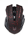 JITE 6D 2.4GHz Wireless 1600DPI Gaming Mouse with USB Receiver Red Yellow Blue Green