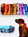 Gatos / Perros Collares Rojo / Blanco / Verde / Azul / Rosado / Amarillo / Naranja Ropa para Perro Invierno / Verano / Primavera/OtonoUn