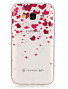 Love PatternTransparent Soft TPU Back Case for Galaxy Grand Prime/Galaxy Core Prime