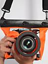 Сухие боксы Водонепроницаемые сумки Чехлы для камер Защита от влаги Подводное плавание и снорклинг PVC Черный