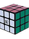 Dayan® Magic Cube 3*3*3 Speed Smooth Speed Cube Black ABS Toys