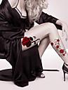 2 Tatouages Autocollants Series de fleur Dessins Animes Dessin-AnimeHomme Femme Adulte Adolescent Tatouage TemporaireTatouages