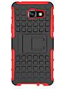 Pour Samsung Galaxy Coque Antichoc Avec Support Coque Coque Arriere Coque Armure Gomme pour Samsung A7(2016) A5(2016) A3(2016)