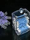 новый дизайн прозрачный акрил ватный тампон коробка Q-Tip держатель для хранения косметики макияж ящик для хранения инструмента женщин с