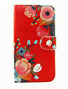 For Samsung Galaxy S7 Edge Card Holder / Wallet / with Stand / Flip / Pattern Case Full Body Case Flower PU Leather SamsungS7 edge / S7 /