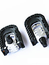 Folding Bicycle Pedals Footrest Folding Folding Mountain Bike Pedals Aluminum Folding Pedal
