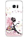 nye mode 3d skønhed blomst farverige totem TPU tegneserie blød Taske til Samsung Galaxy s7 / s7edge / s7edge plus