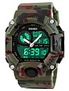SKMEI Men\'s Sport Watch Wrist watch Digital WatchLCD Calendar Chronograph Water Resistant / Water Proof Dual Time Zones Alarm Luminous