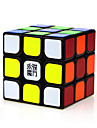 Yongjun® Smooth Speed Cube 3*3*3 Speed / Professional Level Magic Cube Black ABS