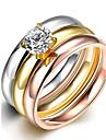 Классические кольца Массивные кольца Кольцо Цирконий Циркон Цирконий Мода Богемия Стиль Панк Регулируется обожаемый Кисточки Разные цвета
