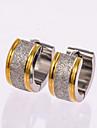 Серьги-гвоздики Серьги-кольца Серебряный Бижутерия Свадьба Для вечеринок Повседневные 1 пара