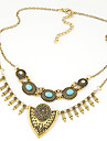 Necklace Statement Necklaces Jewelry Party / Daily / Casual Vintage Alloy Gold / Silver 1pc Gift