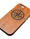 147 iPhone 5 Case Case Cover Pattern Embossed Back Cover Case Wood Grain Hard Wooden for Apple iPhone SE/5s iPhone 5