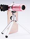 Universal 12× Telescope Lens for Mobile Phones iphone/samsung Silver/Gold/Rose/Black