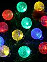 1 Lampe Solaire LED 100 lm Blanc Chaud / Blanc Naturel SMD 3528 Etanches <5V V 1 pieces