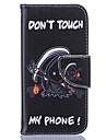 Pour Coque iPhone 6 Coques iPhone 6 Plus Portefeuille Porte Carte Avec Support Clapet Motif Coque Coque Integrale Coque Mot / Phrase Dur
