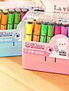 Caneta Caneta Canetas de cor de agua Caneta,Plastico Barril Cores Aleatorias cores de tinta For material escolar Material de escritorio