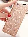 Pour iPhone X iPhone 8 iPhone 6 iPhone 6 Plus Etuis coque Autre Coque Arriere Coque Brillant Flexible PUT pour Apple iPhone X iPhone 8