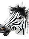 mascara divertido dia das bruxas cavalo de latex realista cabeca / partido engracado interessante masquerade mascaras de silicone mascara