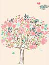 Животные / ботанический / Мультипликация / Романтика / Натюрморт / Мода / Цветы / Винтаж / Отдых Наклейки Простые наклейкиДекоративные