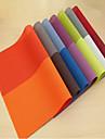 Пластик Прямоугольный Салфетки-подстилки