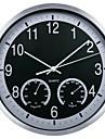 Модерн Прочее Настенные часы,Круглый Стекло 12*12 В помещении Часы