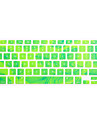 SoliconeKeyboard Cover For13.3\'\' / 15,4 \'\' Macbook Pro com Retina / MacBook Pro / Macbook Air com Retina / MacBook Air