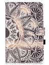 PU Leather Material Half flower Embossed  Pattern Tablet Sleeve for Galaxy Tab T550/T560