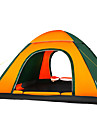 3-4 Pessoas Tenda Unico Barraca de acampamento Um Quarto Tenda Automatica A Prova de Humidade Bem Ventilado Prova-de-Agua Resistente