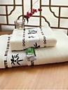 100%бамбуковое волокно-70*140cm ; 34*74cm-Жаккард-Набор банных полотенец