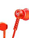Beevo EM300 Наушники-вкладышиForМедиа-плеер/планшетный ПК / Мобильный телефон / КомпьютерWithС микрофоном / DJ / Регулятор громкости /