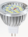 8 GU5.3(MR16) Точечное LED освещение MR16 15 SMD 5730 650LM lm Тёплый белый / Холодный белый Декоративная DC 12 V 1 шт.