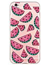 Watermelon Pattern TPU Ultra-thin Translucent Soft Back Cover for Apple iPhone 6s Plus/6 Plus/ 6s/6/ SE/5s/5