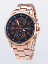 Men\'s Dress Watch / Quartz Alloy Rose Gold Plated Band Casual Rose Gold