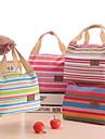Κορέας καταστήματα εργοστάσιο i stripe μόνωσης τσάντα μεσημεριανό γεύμα τσάντα τσάντες φορητό κουτιά μόνωση έθιμο πακέτο