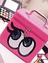 двойной макияж глаз окно портативный большой емкости мешок хранения мыть косметический мешок