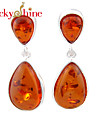 Stud Earrings Drop Earrings Crystal Amber Fashion Geometric Drop Jewelry Wedding Party Daily Casual Sports 1 pair