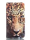 Pour Samsung Galaxy Coque Portefeuille Porte Carte Avec Support Coque Coque Integrale Coque Motif Leopard Flexible Cuir PU pour Samsung