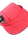 Собаки Банданы и шляпы Одежда для собак Зима Весна/осень Однотонный На каждый день Черный Красный Синий