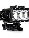 Spot LED Coque Etanche Coque Interne FLASH PourGopro 5 Gopro 3 Gopro 2 Gopro 3+ Gopro 1 Sports DV SJ4000 SJ5000 SJ6000 SJCAM SJ7000 SJCAM