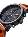 CURREN® Men's Fashion Dress Watch Japanese Quartz Leather Strap Cool Watch Unique Watch