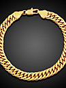 Bracelet/Chain Bracelets Gold Plated Circle Fashionable Daily / Casual Jewelry  Coppery1pc Christmas Gifts