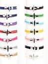 Beadia 1Pc 4mm Leather  Wrap Rope Cord Bracelet