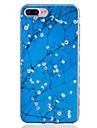 용 아이폰7케이스 / 아이폰7플러스 케이스 / 아이폰6케이스 패턴 케이스 뒷면 커버 케이스 꽃장식 소프트 TPU Apple아이폰 7 플러스 / 아이폰 (7) / iPhone 6s Plus/6 Plus / iPhone 6s/6 / iPhone